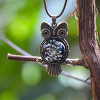 A Starry Hoot Necklace