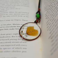 Amber Opus Bookmark