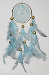 Dream Catcher  Baby Blue Crochet Car Hanging