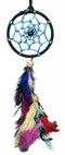 Dream Catcher  Black and Blue Car Hanging