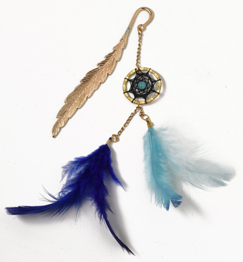 Blue Leaf Dream Catcher