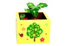 Little Bird With Tree Wooden Planter