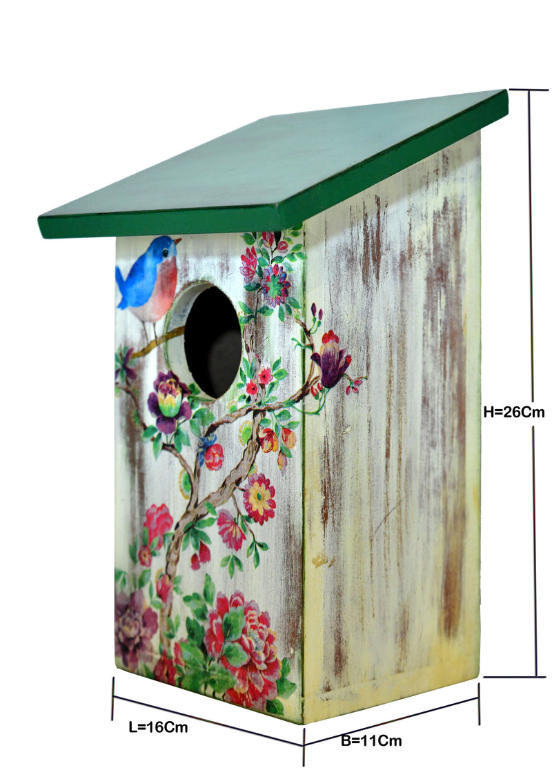 Bird And blossom Birdhouse