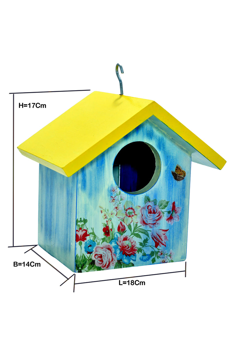 Roses And Lilies Birdhouse