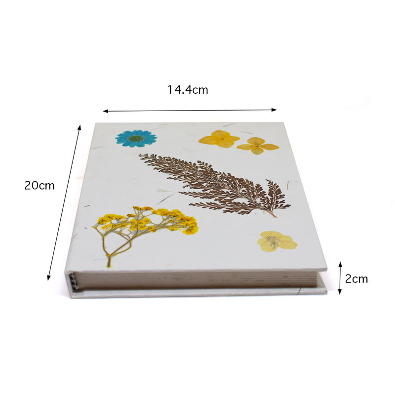 A Flick of Magic Pressed Flower Diary
