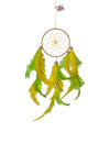 Dream Catcher  Green and Yellow Hanging
