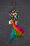 Dream Catcher Keychain  Neon Circus