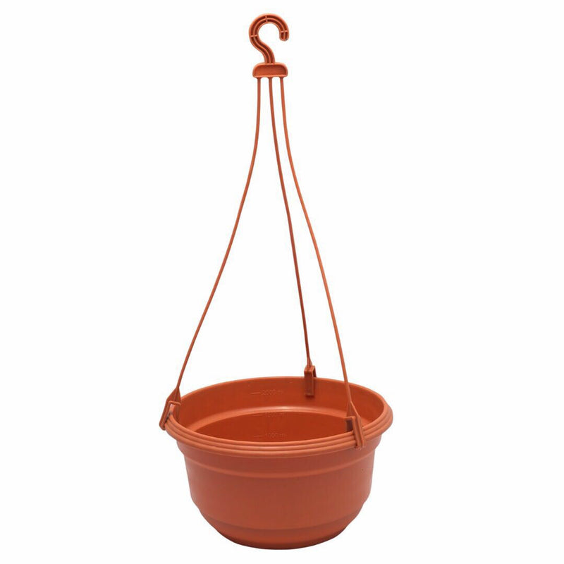 Set of 3 : Hanging Terracotta Pot
