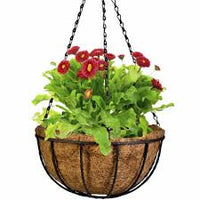 Coir Basket with hanger Garden Essentials myBageecha - myBageecha