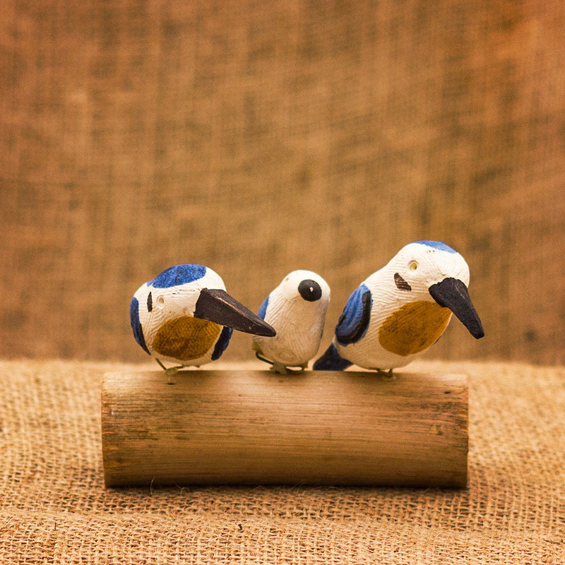 Peppy Pops - Kingfisher Bird Stand Decor myBageecha - myBageecha