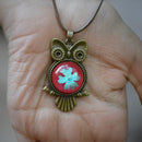 Owl's Efflorescence Necklace