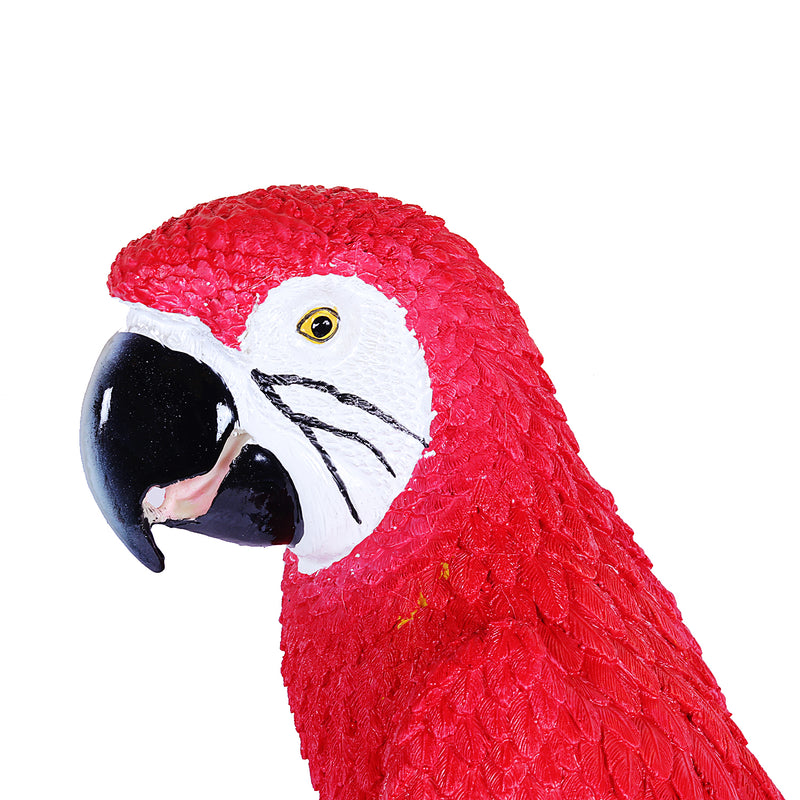 Big Parrot Decor In Red