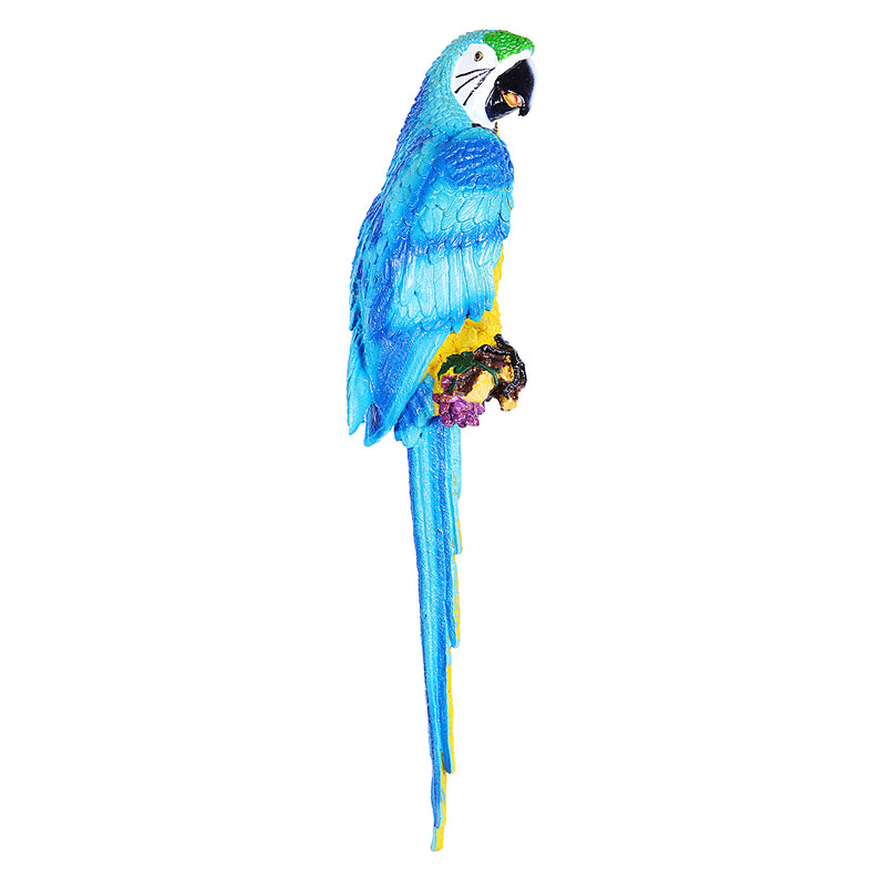 Big Parrot Decor In Blue