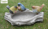 Bird Feeder: Three Birds Stand