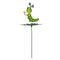caterpillar Garden Stake on leaf (SET of 2)