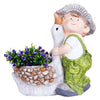 Boy with Duck Planter
