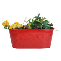 Self embossed Railing planters(Set of 5)