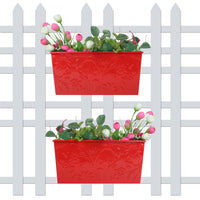 (Pack of 2)Self Embossed Planters