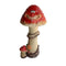 Smiley 14 inch Big Mushroom Decoration