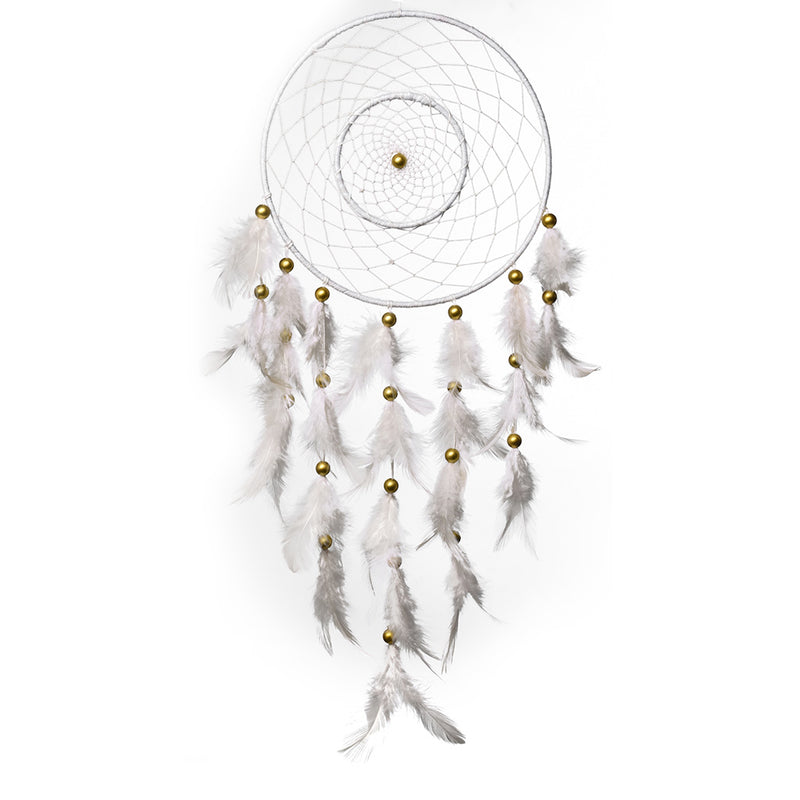White Duet Dreamcatcher