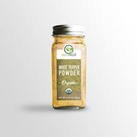 Organic White Pepper Powder - 55 g