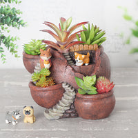 A Pot Maze Resin Succulent Pot