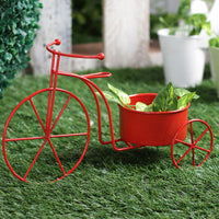Big Red Bicycle Planter Garden Essentials myBageecha - myBageecha