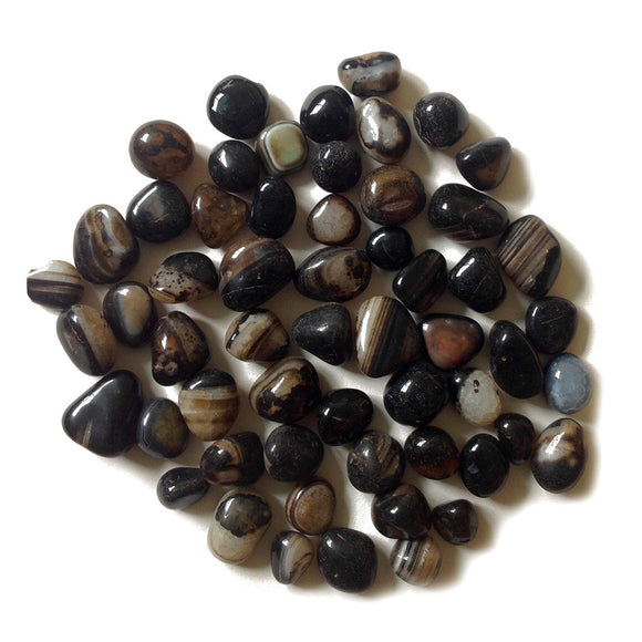 Black Coloured Onyx Pebble Decor myBageecha - myBageecha
