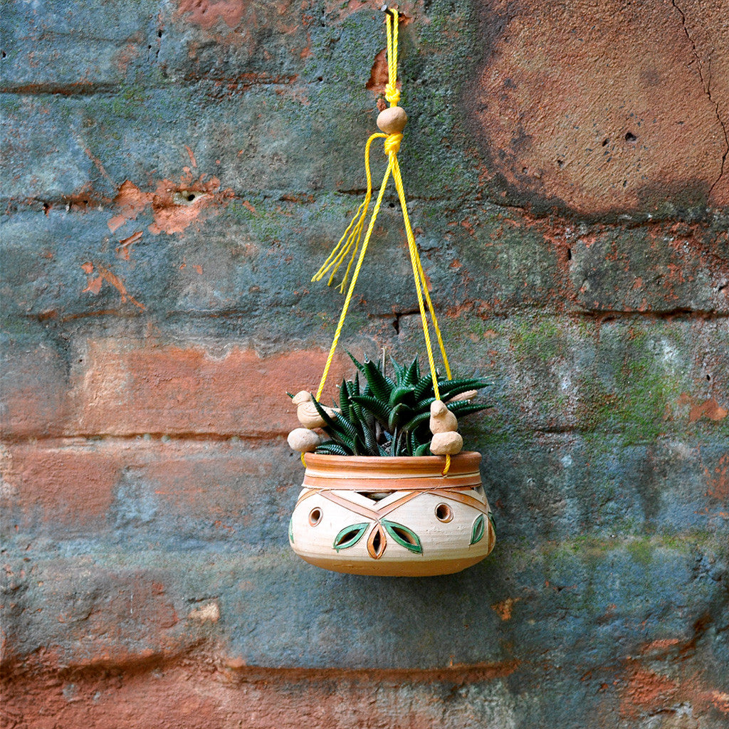 Hanging Clay Pot Decor myBageecha - myBageecha