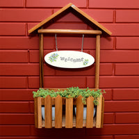Hut Welcome Planter Garden Essentials myBageecha - myBageecha