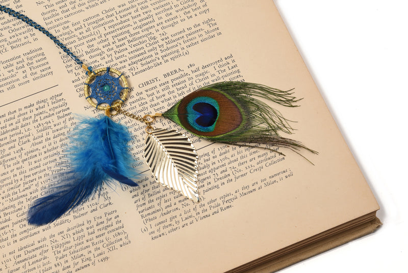 Dream Catcher  Book Mark Peacock