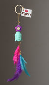 Dream Catcher   Buddha Keychain
