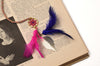 Dream Catcher  Book Mark Pink Purple