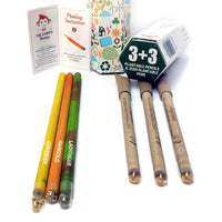 Magicseeds Plantable Pens & Pencils (Pack of 6)