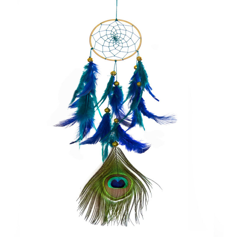 Quaint Peacock Dreamcatcher