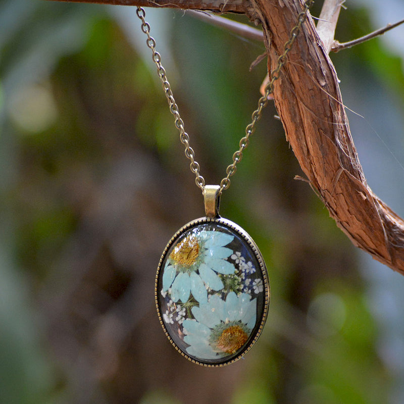 Petals of the Sky Necklace