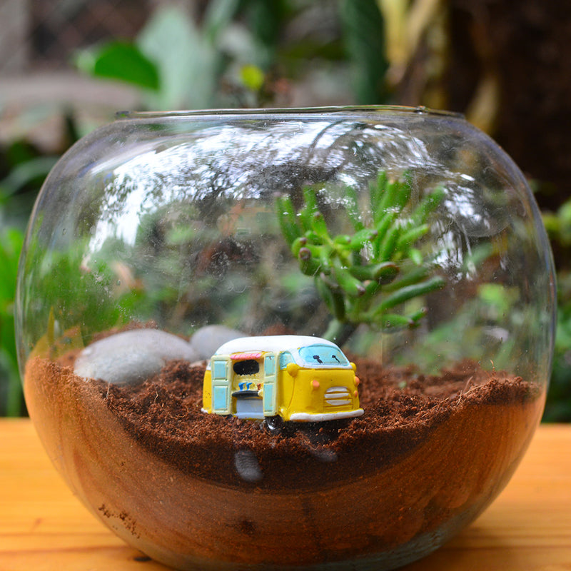 Miniature Picnic Van Decor