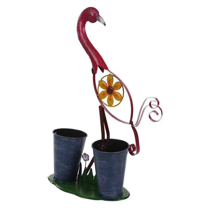 Pink Bird with 2 Pots Garden Essentials myBageecha - myBageecha