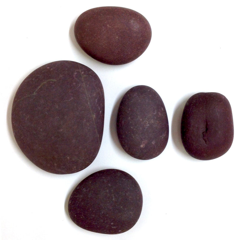 River Brown - Unpolished Pebble Decor myBageecha - myBageecha