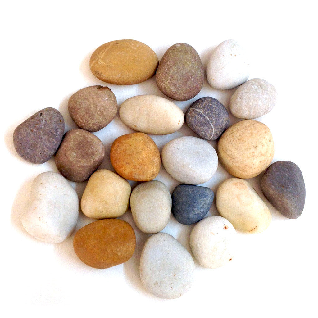 River Mix - Unpolished Pebble Decor myBageecha - myBageecha