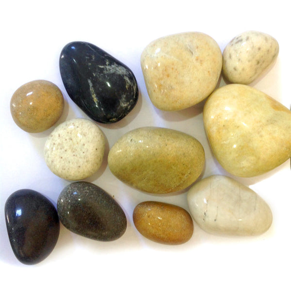 River Mix - Polished Pebble