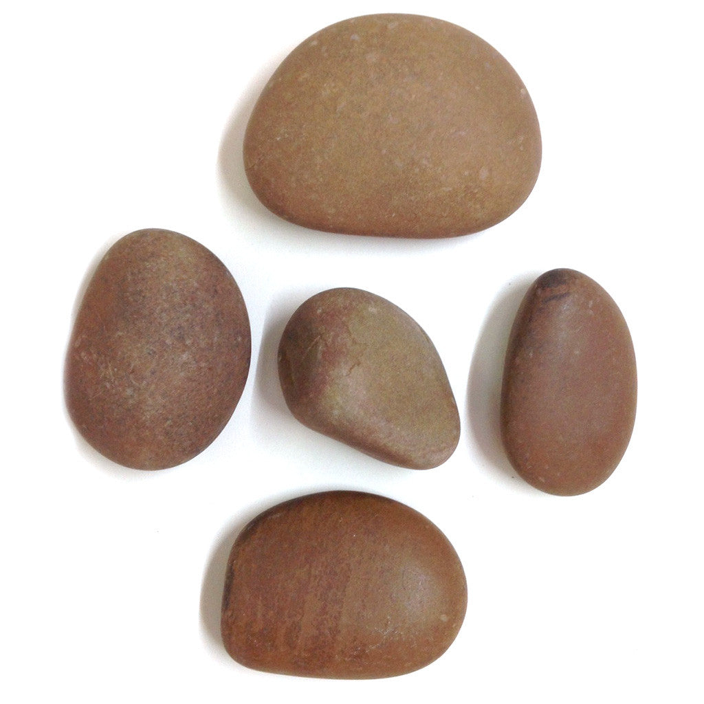 River Yellow - Unpolished Pebble Decor myBageecha - myBageecha