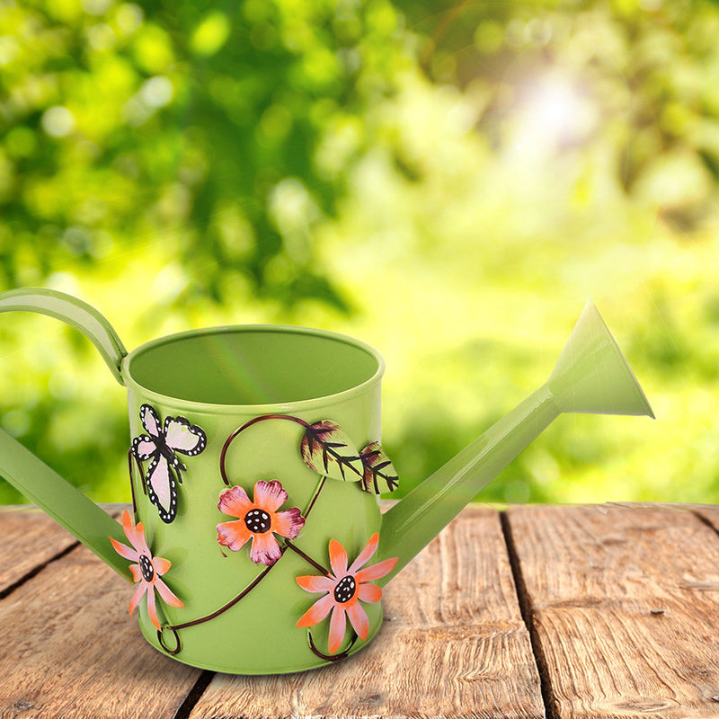Small Decorative Green Watering Can Garden Essentials myBageecha - myBageecha