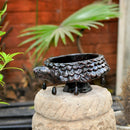 Terracotta Brown Tortoise Planter Garden Essentials myBageecha - myBageecha