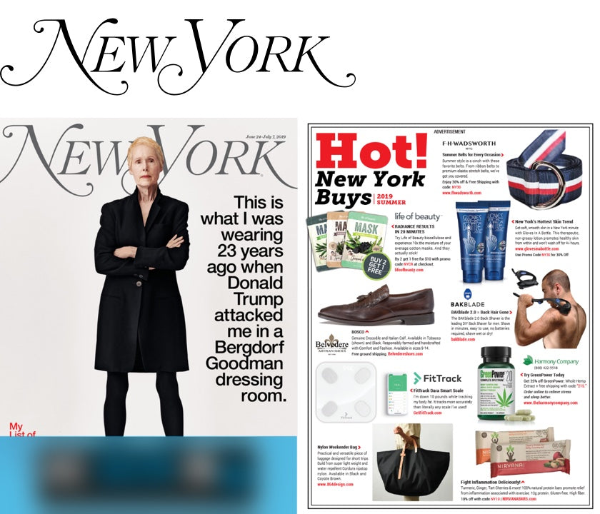 New York Magazine Featured Gloves In A Bottle