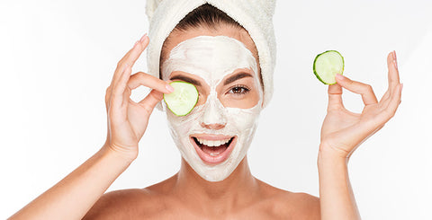 cucumbers for dry skin