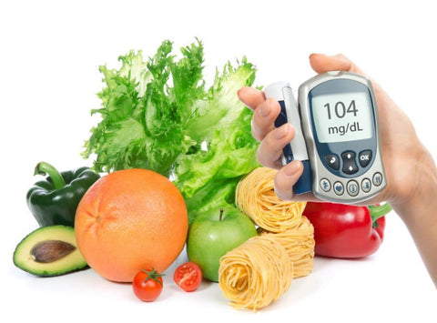 healthy diet for diabetes skin care