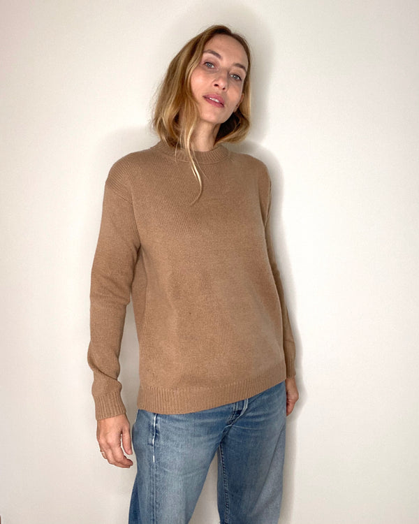 cashmere sweater bettina camel
