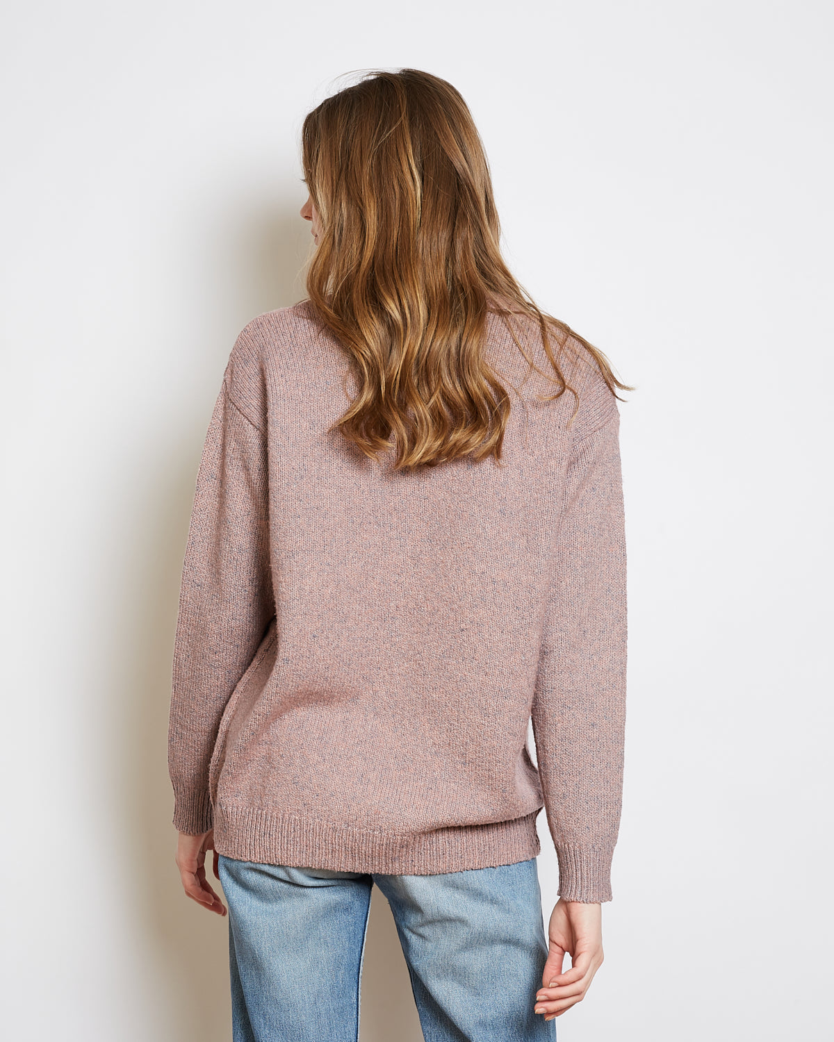 pull chiné oversize bob nude