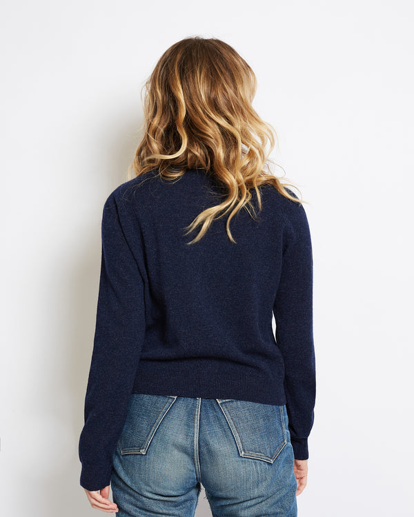 cardigan cachemire superlight mila navy